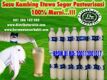 Jual Susu Kambing Etawa Cair Organik Di Bogor