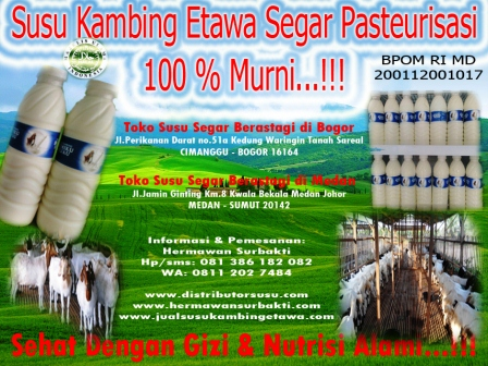 Manfaat Susu Kambing Cair Organik Di Bogor