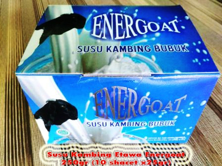 Supplier Susu Kambing Energoat