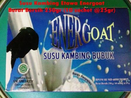 Susu Kambing Bubuk Energoat